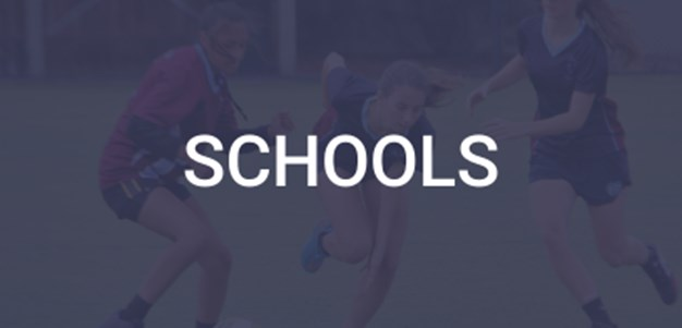 Information about Touch Football Victoria's schools programs