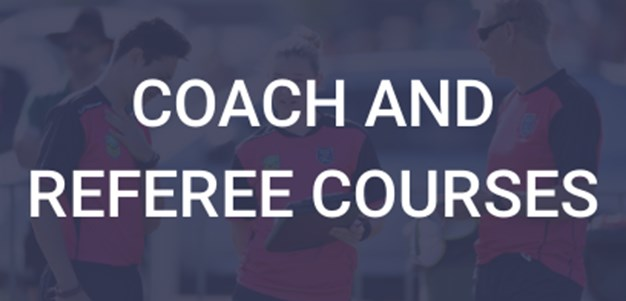 Get involved - become a Referee or Coach today!