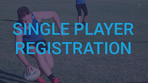 Single Player Registration - Just Play
