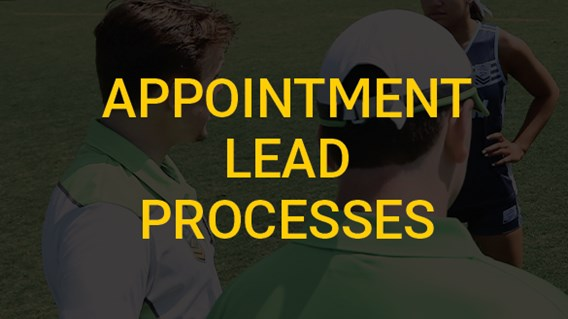 Appointment Lead Processes