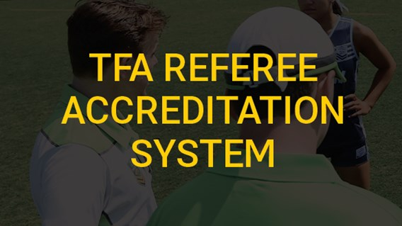 TFA Referee Accreditation System