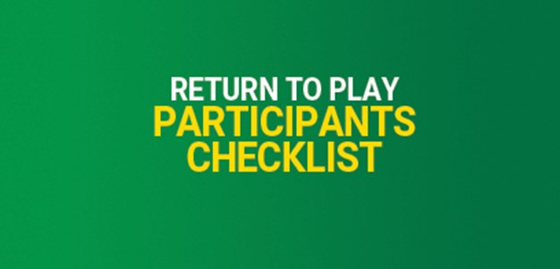 Checklist for Participants